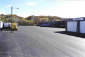 Commercial paving project for a local food wholesaler.